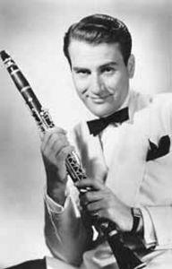 Bandleader Artie Shaw at the Garden of Allah hotel