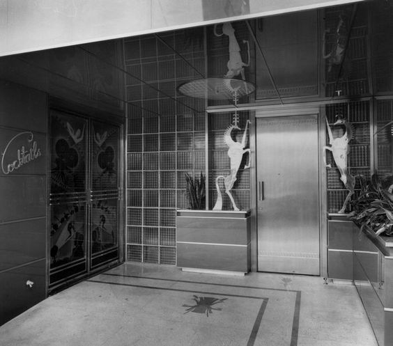 Entrance of Clara Bow's It Cafe, Vine Street, Hollywood