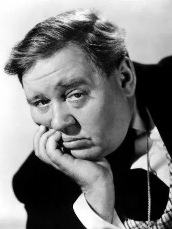 Charles Laughton at the Garden of Allah hotel