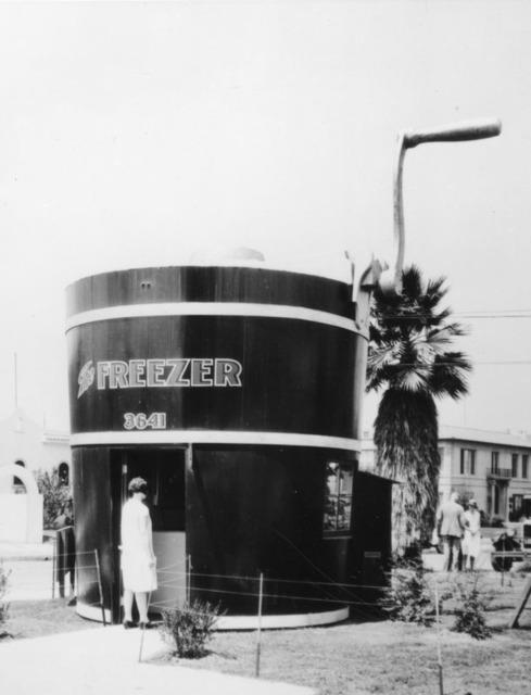 Freezer ice cream store, Pico Blvd, Los Angeles