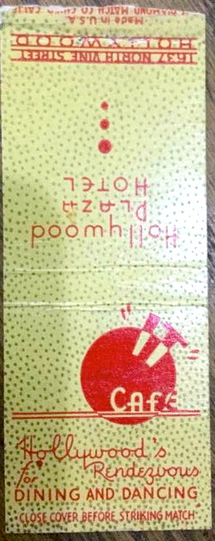 It Cafe matchbook