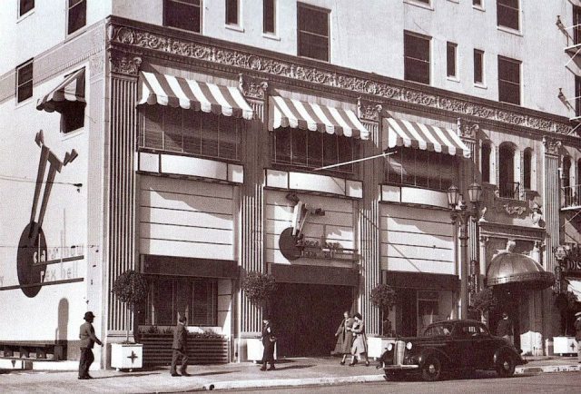 Clara Bow's 'It Cafe', Vine Street, Hollywood, 1930s