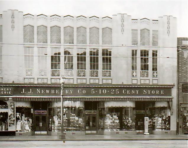 J. J. Newberry 5–10–25 cent store, Hollywood Boulevard, 1928