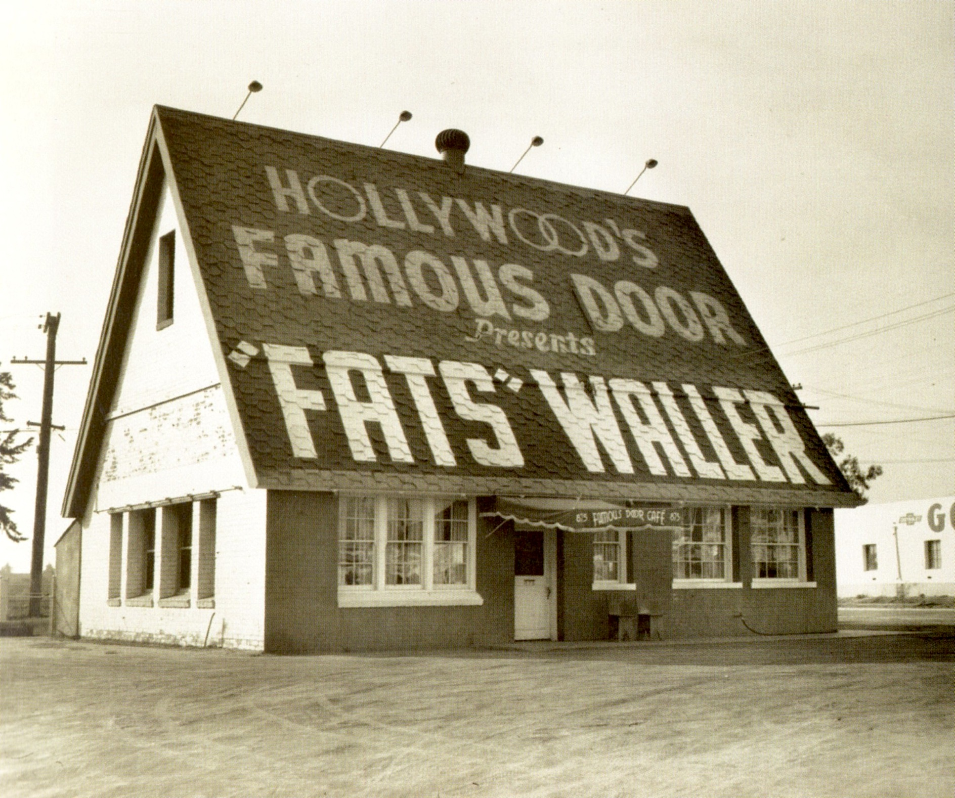 Resultat d'imatges de hollywoods famous door fats waller