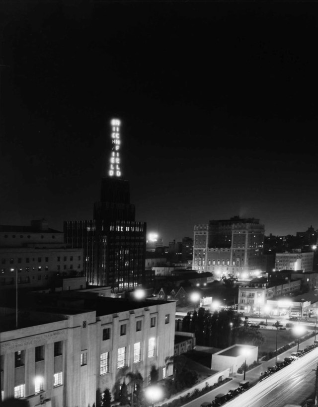 Richfield Tower, downtown Los Angeles - 1932