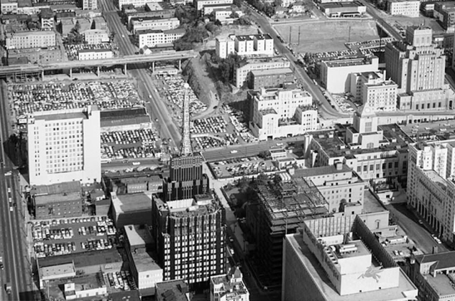 richfield building from the air.