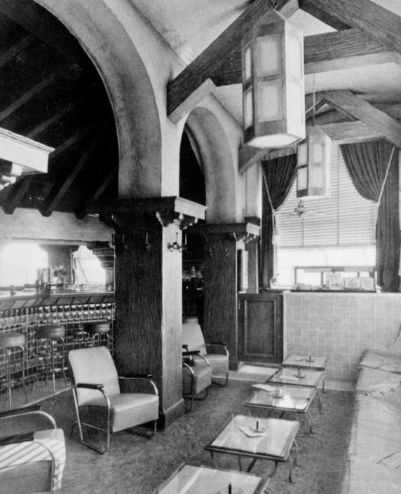 Interior Of Thelma Todd's Sidewalk Cafe, Pacific Palicades