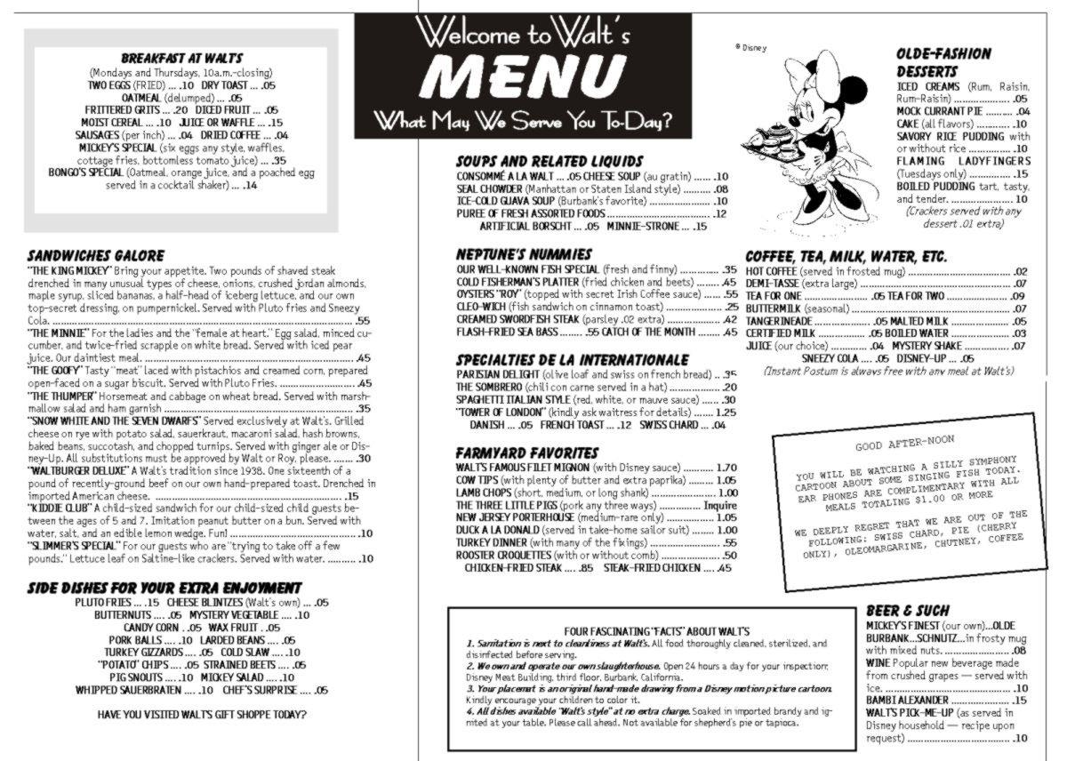 Restaurant Menu Math Worksheets