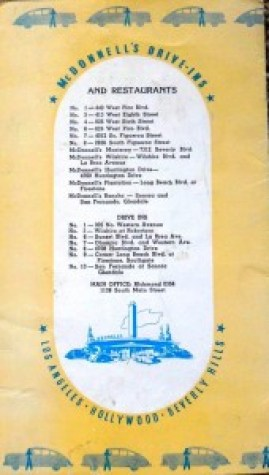 List of McDonnell's restaurants and drive-ins
