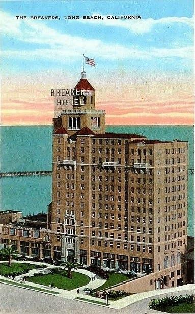 The Sky Room at the Breakers / Hilton / Wilton Hotel, Long Beach. |