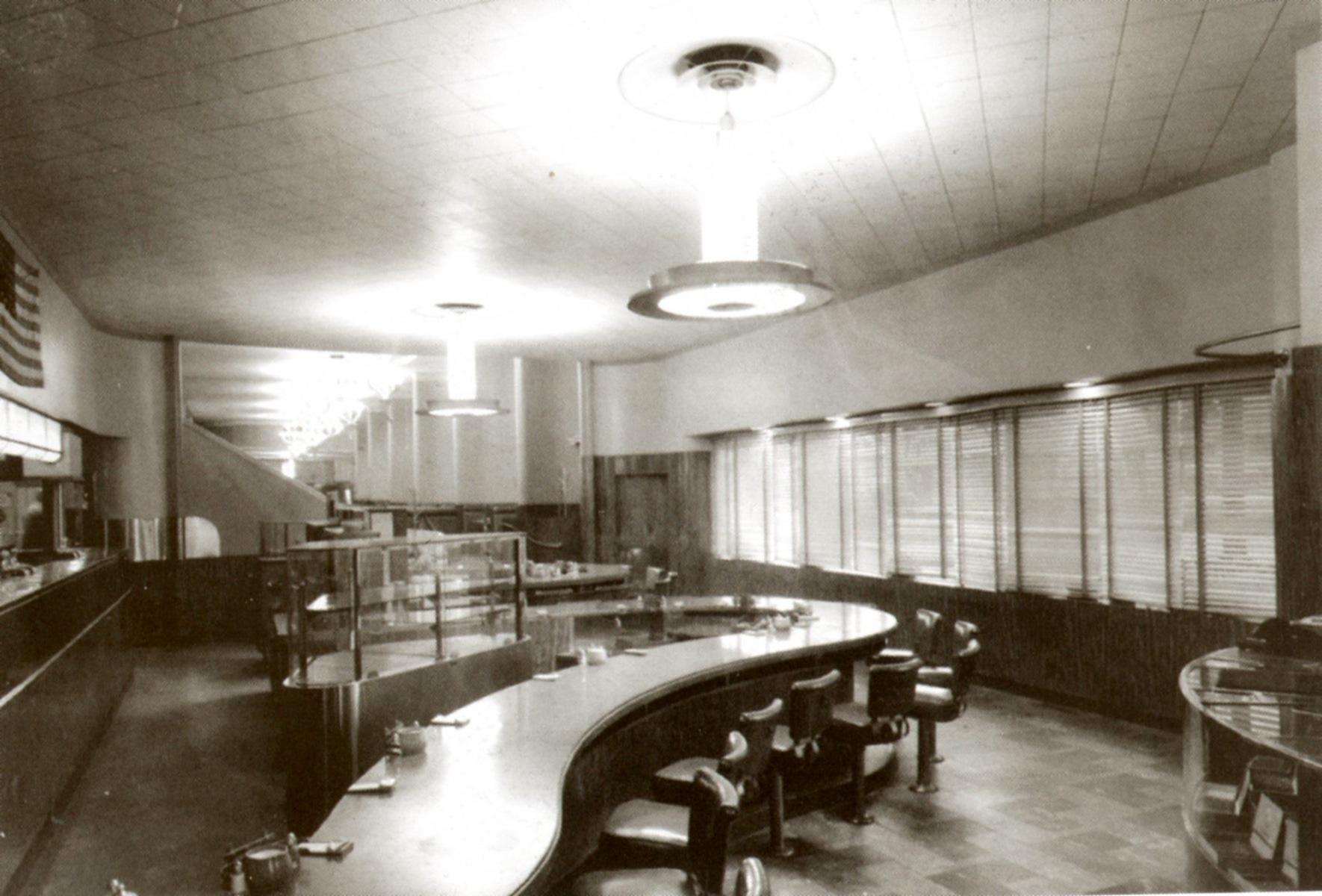 Interior Melody Lane Restaurant Corner Of Hollywood