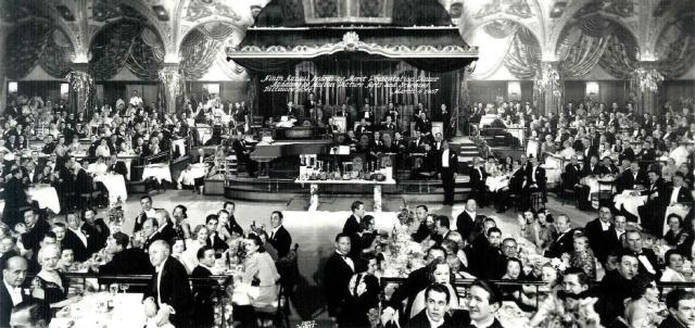 The Academy Awards ceremony in the Biltmore Bowl, downtown Los Angeles, March 4th, 1937