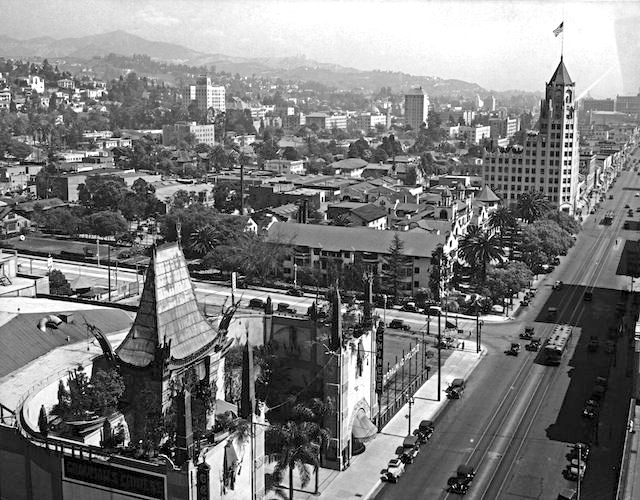 Hollywood Blvd & Grauman's Chinese Theatre, circa 1930