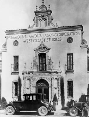 Paramount Famous Lasky Corporation West Coast Studios