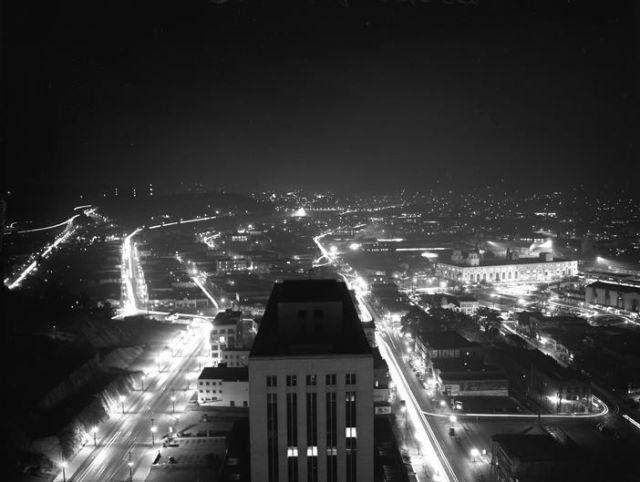 Downtown Los Angeles, October 29th, 1943