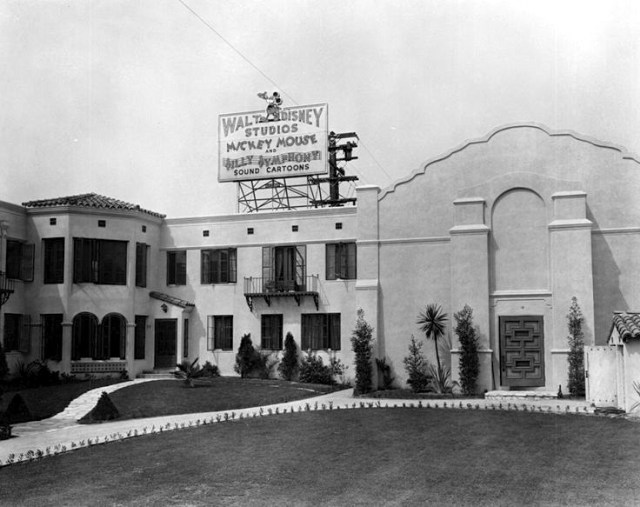 The original Walt Disney Studios at 2719 Hyperion Ave, Los Feliz