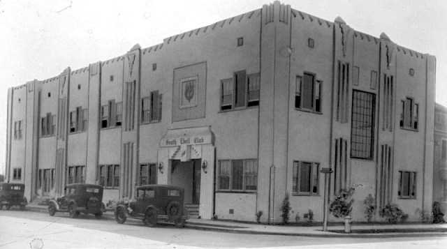 South Ebell Club building, 7101 S. Menlo St., Los Angeles, October 2, 1930
