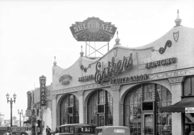 Esther's Beauty Salon and Baths, 1769 N. Cahuenga Blvd, circa 1920s