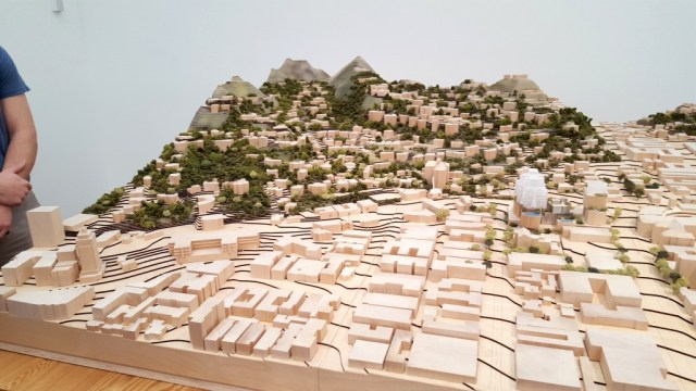 Garden of Allah - Frank Gehry 8150 Sunset model