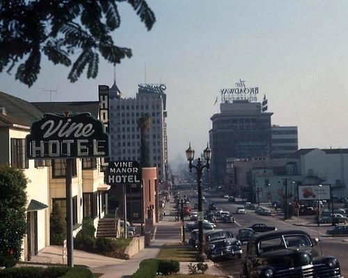 Vine Manor Hotel, Vine St, Hollywood
