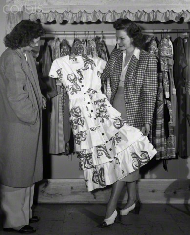 Maureen O'Hara's Seasonal Clothes, 30 Apr 1948