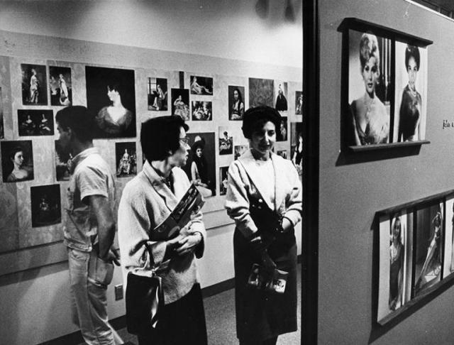 """Changing Face of Beauty,"" a 1963 exhibition at The Lytton Center of the Visual Arts"
