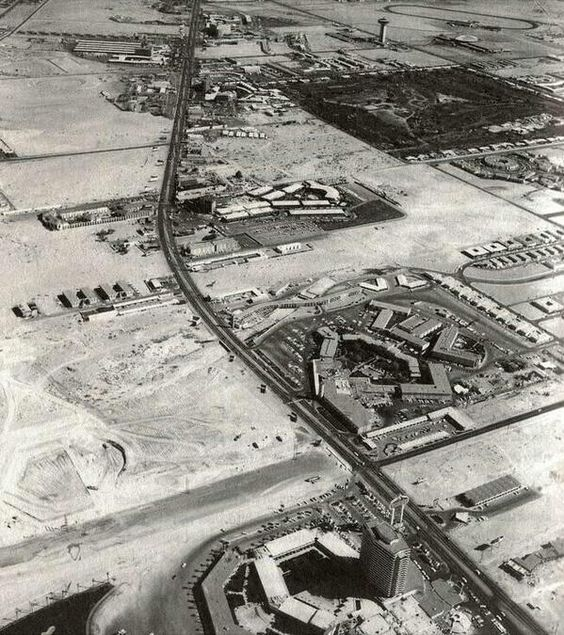 The Strip, Las Vegas, 1954