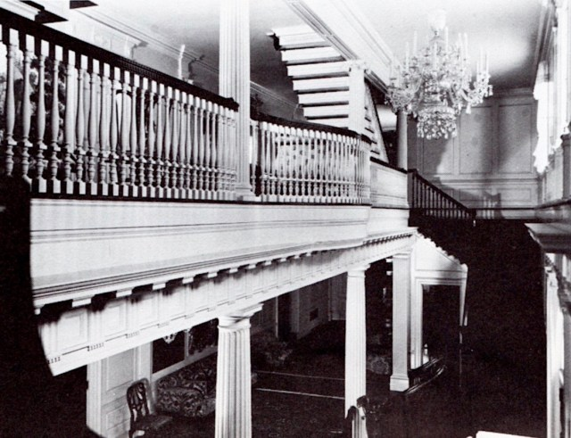 The entrance hall in Marion Davies Santa Monica beach house