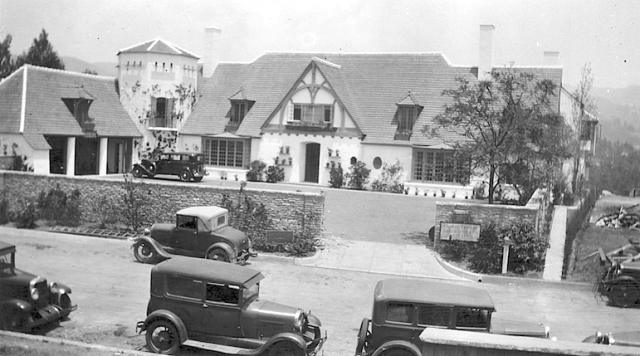 Fredric March's house at 1065 Ridgedale Drive, Bel Air