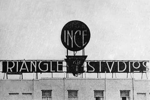 Ince Triangle Studios, Culver City, in 1920, later Goldwyn Studios, which became MGM, now the home to Sony Pictures Studios