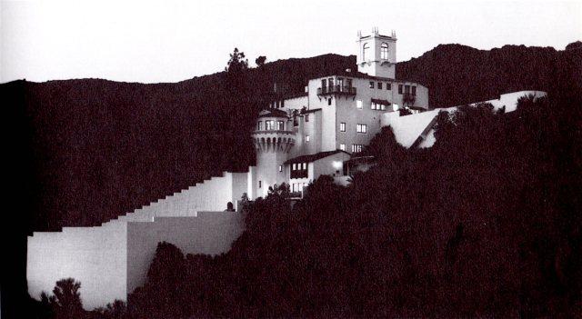 Patrick Longden's Castillo del Lago, Beachwood Canyon, Los Angeles