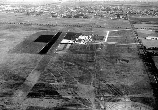 Mines Field, later Los Angeles International Airport, circa 1937