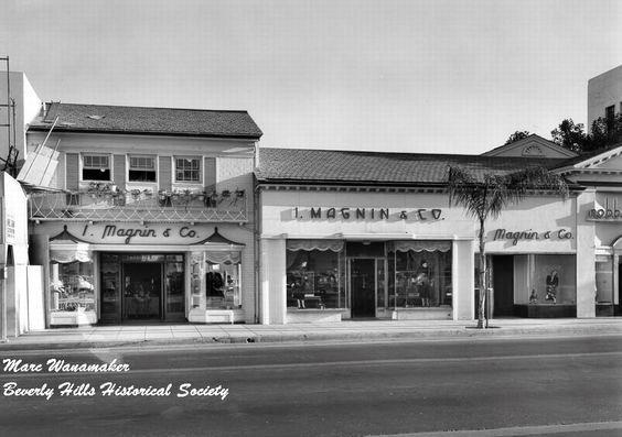 I. Magnin & Co. department store, 9626 Wilshire Blvd, Beverly Hills, built 1928