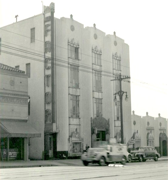 Max Factor Building, 1660 N. Highland, Hollywood, CA, 1944