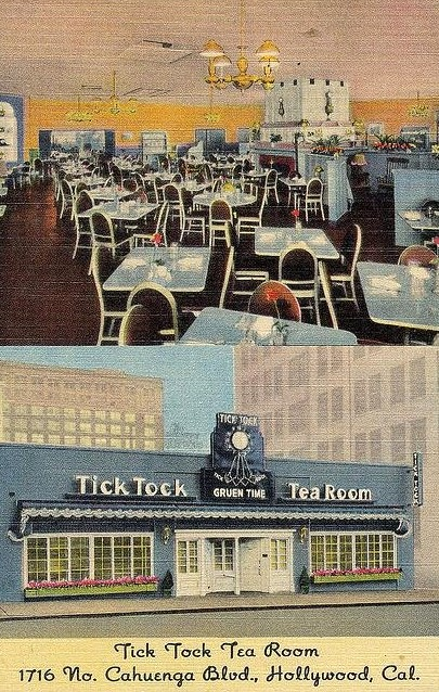 Tick Tock Tea Room, Hollywood