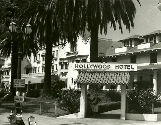 Hollywood Hotel with front archway