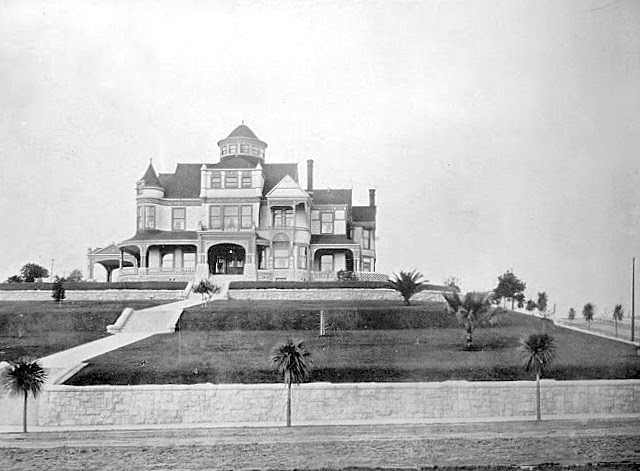 The Shatto house, 1213 Valencia at Wilshire Blvd, Los Angeles, late 1890s