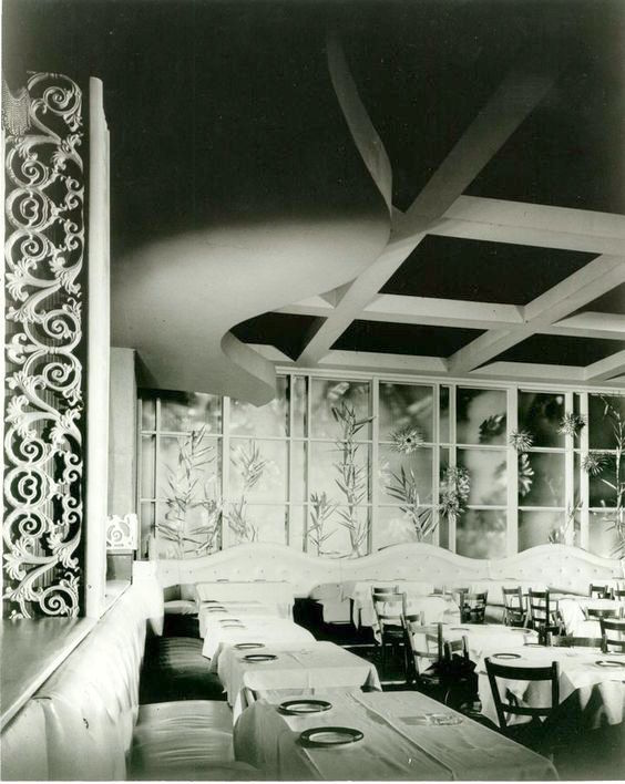 Interior Of Ciro's nightclub, West Hollywood, 1950