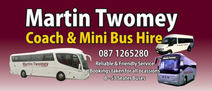 Coach and Minibus hire Cork city and Cork County