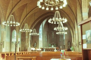 Interieur Martinuskerk Hoogland