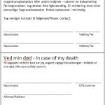 Bilag 4. Personlige oplysningskort til tegnebogen