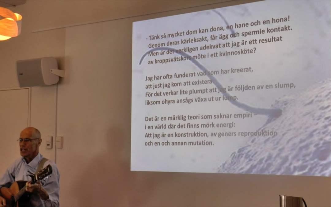 Från evigheten och hit – Lasse Malmgren
