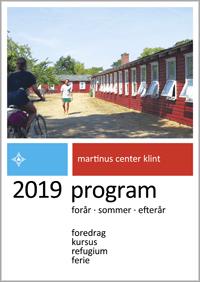 Programmet for Martinus Center Klint 2019 udkommet
