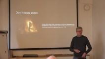 Det mänskliga medvetandets förutsättningar – föredrag av Micael Söderberg
