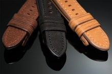 Buffalo leather watch straps for Panerai