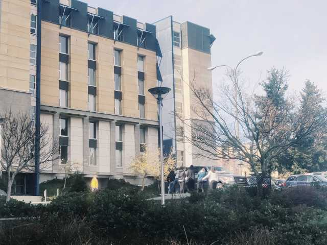 UVic residence buildings