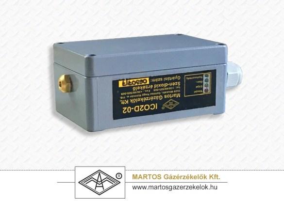 ICO2D-02 típusú ipari CO2 érzékelő