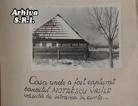 Casa in care a fost capturat Vasile Motrescu - CNSAS Securitate SRI