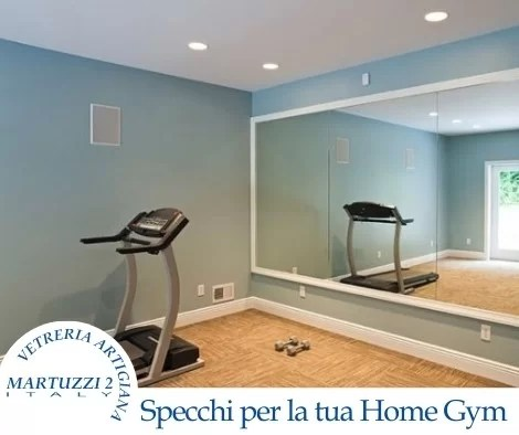 Home Gym Martuzzi Specchi palestra casa