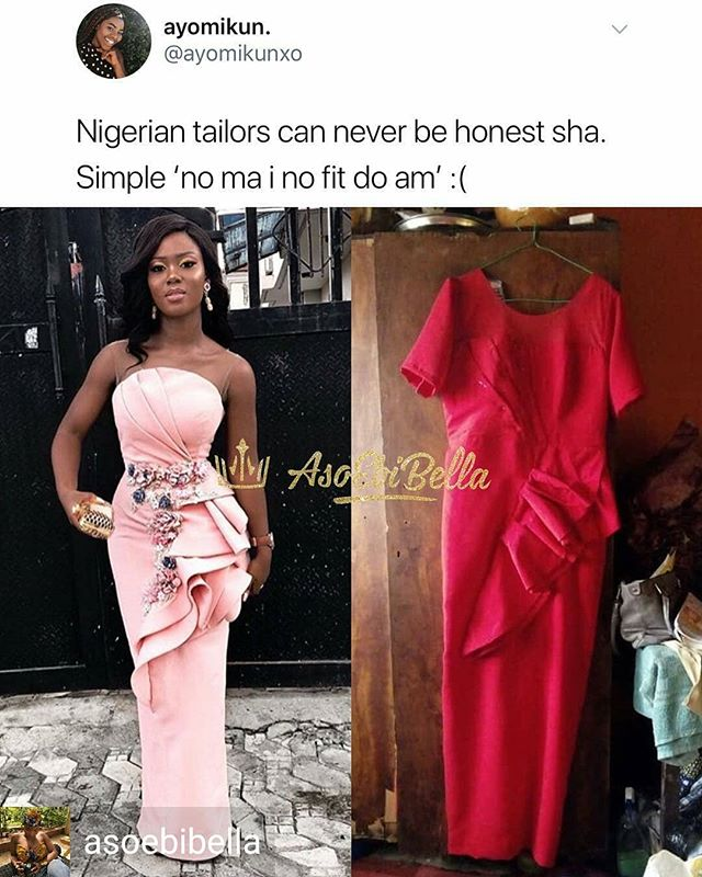 Why didn't she just patronize the actual designer?!